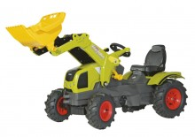 Traktor CLAAS AXOS 340 ROLLY TOYS s čelním nakladačem ROLLY TOYS