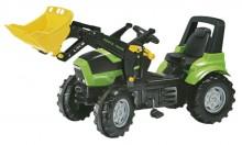 Traktor šlapací DEUTZ AGROTRON 7250 TTV s čelním nakladačem ROLLY TOYS