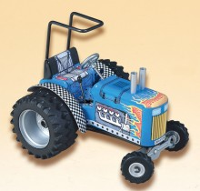 Traktor DRAGTOR modrý