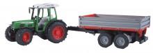 Traktor FENDT 209 S s návěsem BRUDER 02104