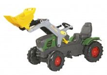 Traktor šlapací FENDT VARIO 211 s čelním nakladačem ROLLY TOYS