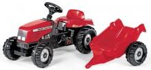 Traktor šlapací MASSEY FERGUSON s návěsem ROLLY TOYS