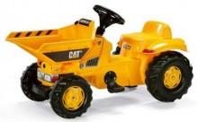 Traktor šlapací CAT DUMPER ROLLY TOYS s přední korbou