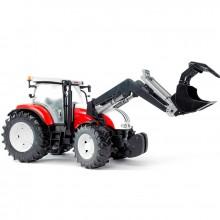 Traktor STEYR CVT 6230 s čelním nakladačem
