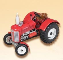 Traktor ZETOR SUPER 50 červený