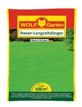 Trávníkové hnojivo dlouhodobé L-PE 500/CEE WOLF-GARTEN 9 kg
