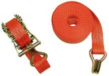 Upínací pás 35 mm x 6 m s ráčnou 2 díly, 2000 kg