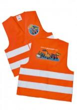 Vesta výstražná oranžová dětská ROLLY TOYS