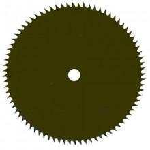 Žací nůž kulatý ozubený 250/25,4 mm 80Z