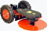Sekačka talířová DAKR RZS-69/V plná pryžová kola pro 2 takt AGZAT