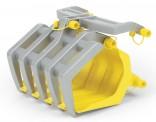 Drapák pro čelní nakladač ROLLY TRAC LADER na šlapací traktory ROLLY TOYS