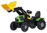 Rolly Toys Traktor šlapací DEUTZ FAHR 5120 s čelním nakladačem