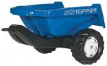 Návěs sklopný KIPPER II ROLLY za šlapací traktory ROLLY TOYS modrý