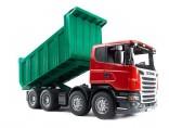 Auto SCANIA LKW nákladní se sklopnou korbou BRUDER 03550