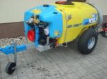Rosič tažený NOBILI PDF 85-1000T L/116, ventilátor 850 mm