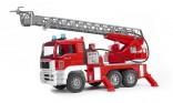 Požární auto MAN s vysunovacím žebříkem BRUDER 02771