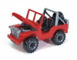 Auto JEEP EAGLE červené BRUDER 02540