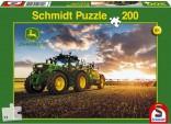 Schmidt Puzzle Traktor JOHN DEERE 6150R s postřikovačem 200 dílků