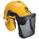 Ochranná lesnická helma PELTOR 3M G22D/H510/V5B kombi žlutá