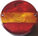Kryt zadní svítilny kulatý třídílný ZETOR L,P