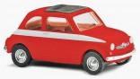 BUSCH 48750 Auto FIAT, STEYER PUCH 500 červený 1:87