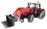 SIKU 3653 Traktor MASSEY FERGUSON MF 894 s čelním nakladačem 1:32