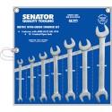 Sada plochých maticových klíčů 6 - 19 mm SENATOR 7 dílná