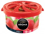 Osvěžovač AROMA CAR ORGANIC STRAWBERRY 40g