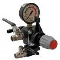Ventil regulační kompletní COMET 2-sekční s manometrem