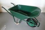Kolečko zahradní KH LIVEX 100 L zelené