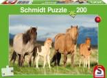 Schmidt Puzzle Koníci 200 dílků