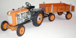 Traktor KUBOTA T15 s přívěsem KOVAP 0372