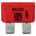 Pojistka nožová 10A červená DIN 72581