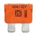 Pojistka nožová 40A oranžová DIN 72581
