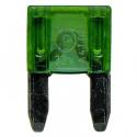 Pojistka nožová MINI 30A zelená DIN 72581