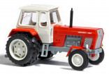 BUSCH 8706 Traktor FORTSCHRITT ZT 300 D červený s dvojmontáží 1:120