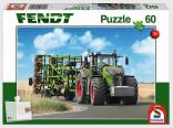 Schmidt Puzzle Traktor FENDT a kompaktor AMAZONE 60 dílků