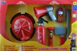Hasičská dětská výzbroj s helmou KLEIN 8967