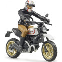 BRUDER 63051 Figurka motorkář SCRAMBLER DUCATI BWORLD