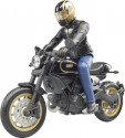 BRUDER 63050 Figurka motorkář SCRAMBLER DUCATI BWORLD