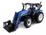 UNIVERSAL HOBBIES UH 4232 Traktor NEW HOLLAND T6.140 s nakladačem 1:32