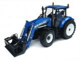 UNIVERSAL HOBBIES UH 4274 Traktor NEW HOLLAND T5.115 s nakladačem 1:32