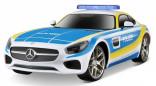 MAISTO RC MERCEDES BENZ AMG GT policie 40 Mhz 1:24
