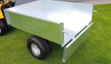 Vozík přívěsný VARES TRVMS-POZINK 300 pneu 16 x 6,5-8