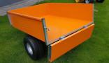 Vozík přívěsný VARES TRVMS-POZINK PLUS 300 pneu 16 x 6,5-8