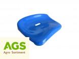Sedačka UNIVERSAL plastová nízká modrá