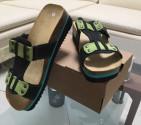 Obuv pracovní sandál LA PALMA JANA zelený/černý