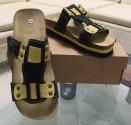 Obuv pracovní sandál LA PALMA JANA žlutý/černý