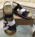 Obuv pracovní sandál TENERIFE JANA s páskem bíločerný