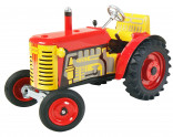 Traktor ZETOR červený KOVAP 0381